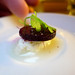 Beet Amuse at Le Comptoir