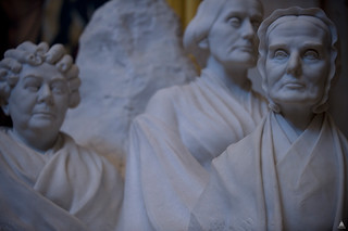 Portrait Monument to Lucretia Mott, Elizabeth Cady Stanton and Susan B. Anthony | by USCapitol