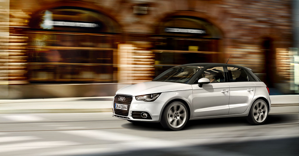 audi a1 sportback contrasting roof paintwork glacier whit flickr. Black Bedroom Furniture Sets. Home Design Ideas