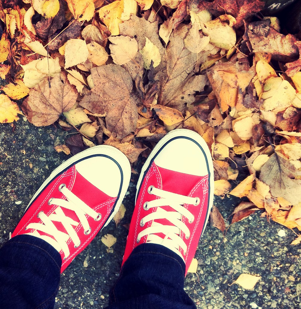 Red photography converse