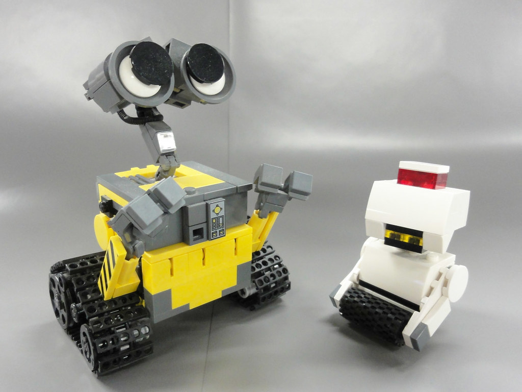 lego wall e 01 this is my lego idea and creation for lego flickr. Black Bedroom Furniture Sets. Home Design Ideas