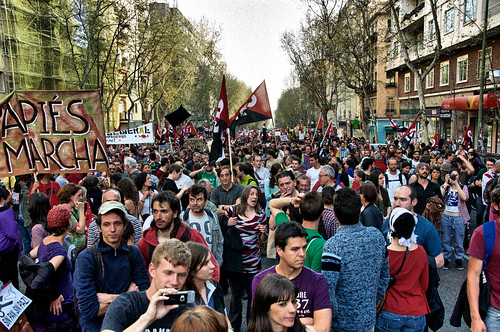 29th March Spanish General Strike | by fotografar
