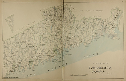 Page 144 & 145 of Town and city atlas of the State of Connecticut. / Compiled from government surveys, county records and personal investigations | by uconnlibrariesmagic