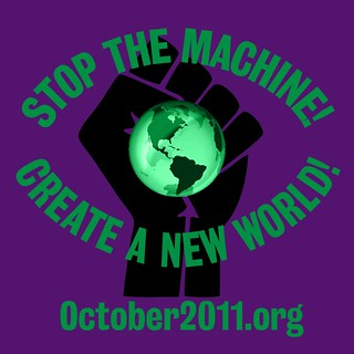 October 2011 STOP THE MACHINE logo | by Elvert Barnes