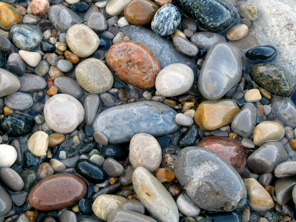 Image result for polished stones by seashore pictures