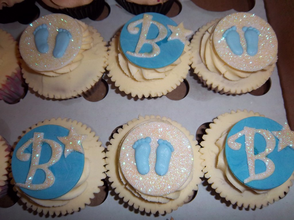 Boy Baby Shower Cupcakes Contemporary Cupcakes Flickr