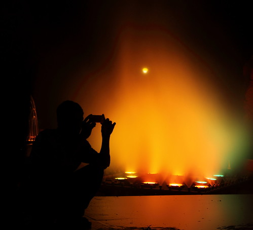 Silhouetted mobile-cameraman! | by |Anooj|