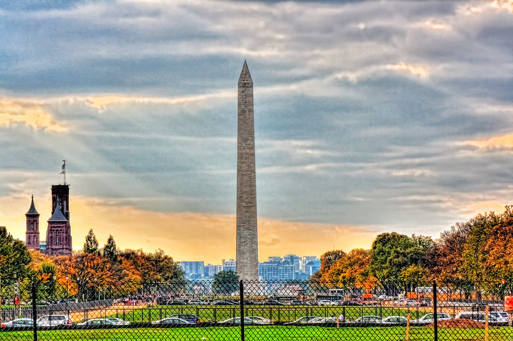Washington D C Washington Monument Obelisk The