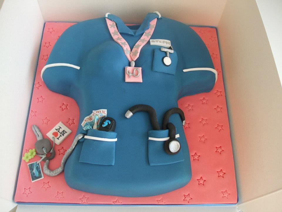 Nurse cake Debbie Scott Flickr