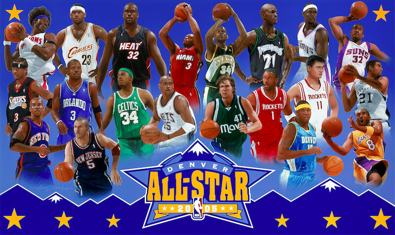 2005 NBA All-Star Game: Box Score, MVP and Information.
