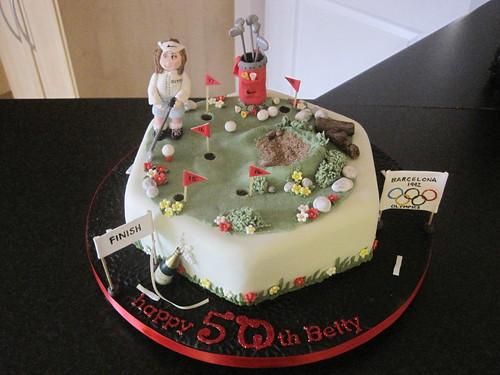 Barcelona Birthday Cake Sheffield