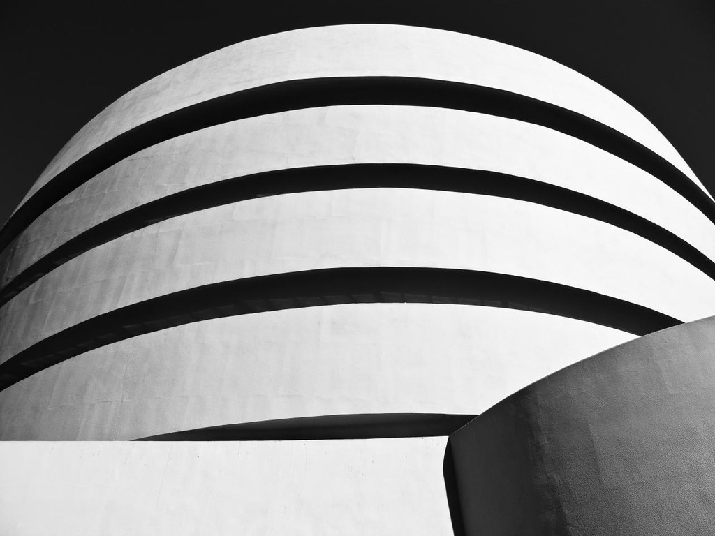 IMG USA York Guggenheim Museum Black And White Flickr - Black museums in usa