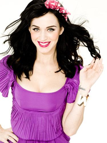 Katy Perry Purple Dress