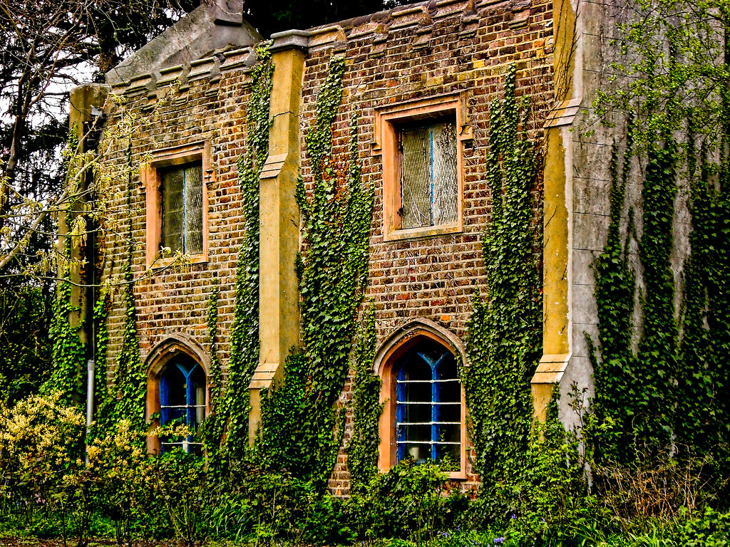 ... Old Ivy-Covered House | by garryknight