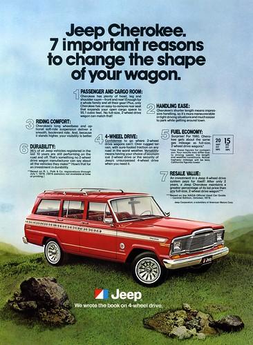jeep cherokee resale value ad vintage jeep cherokee sj a flickr. Black Bedroom Furniture Sets. Home Design Ideas