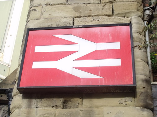 Worcester Foregate Street Station - British Rail sign | by ell brown