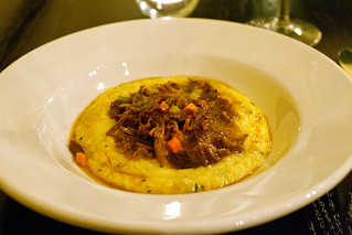Polenta with osso buco & marrow butter | by digiteyes