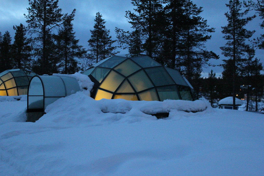 igloo de verre igloo de verre de nuit h tel laponie finlan romain cloff flickr. Black Bedroom Furniture Sets. Home Design Ideas