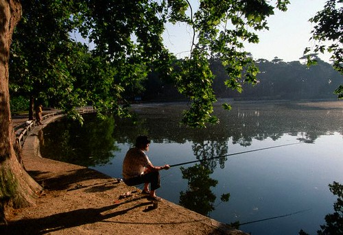 Man fishing near the Berny Riviere site - Thomson Al Fresco | by Thomson Al Fresco