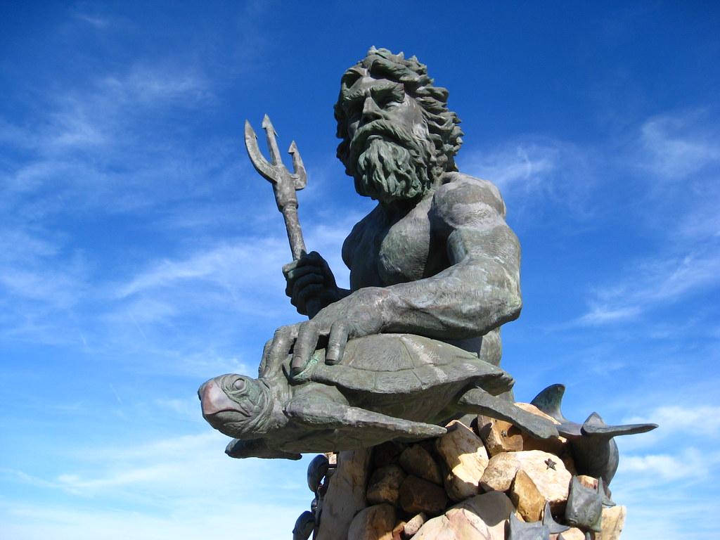 Neptune God of the Sea | Brian Adler | Flickr