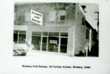 ... Rexburg Cold Storage | By Rexburg Historical Society