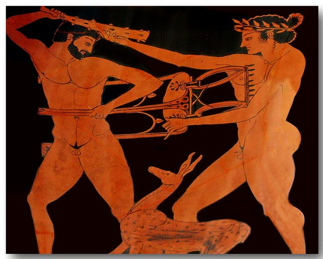 Ancient greek pottery decoration 08 flickr photo sharing for Ancient greek pottery decoration