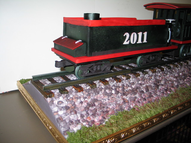 Train Engine Cake Images : Locomotive Cake (Coal Car) Explore RDPJCakes  photos on ...
