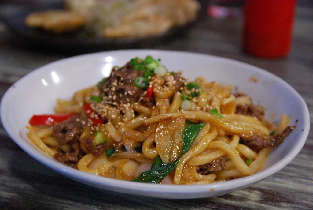 Beef Yaki Udon Noodle Darac AUD9.50 Not Bad Korean Food,… Flickr ...