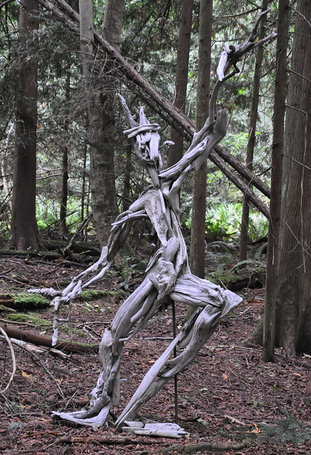 Driftwood Sculpture Flickr Photo Sharing