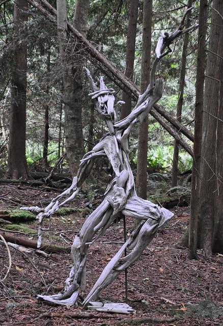 Driftwood sculpture flickr photo sharing Driftwood sculptures for garden