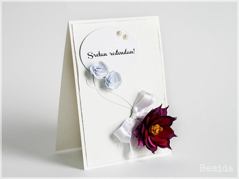 cvijeće za rođendan Čestitka za rođendan: ručno rađeno cvijeće | blog.besida ces… | Flickr cvijeće za rođendan