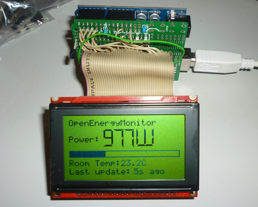 SparkFun Serial Graphic LCD 128x64 - LCD-09351