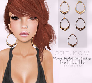 bellballs essentials- Wooden Beaded Hoop's | by Vio Vyper / Animaux