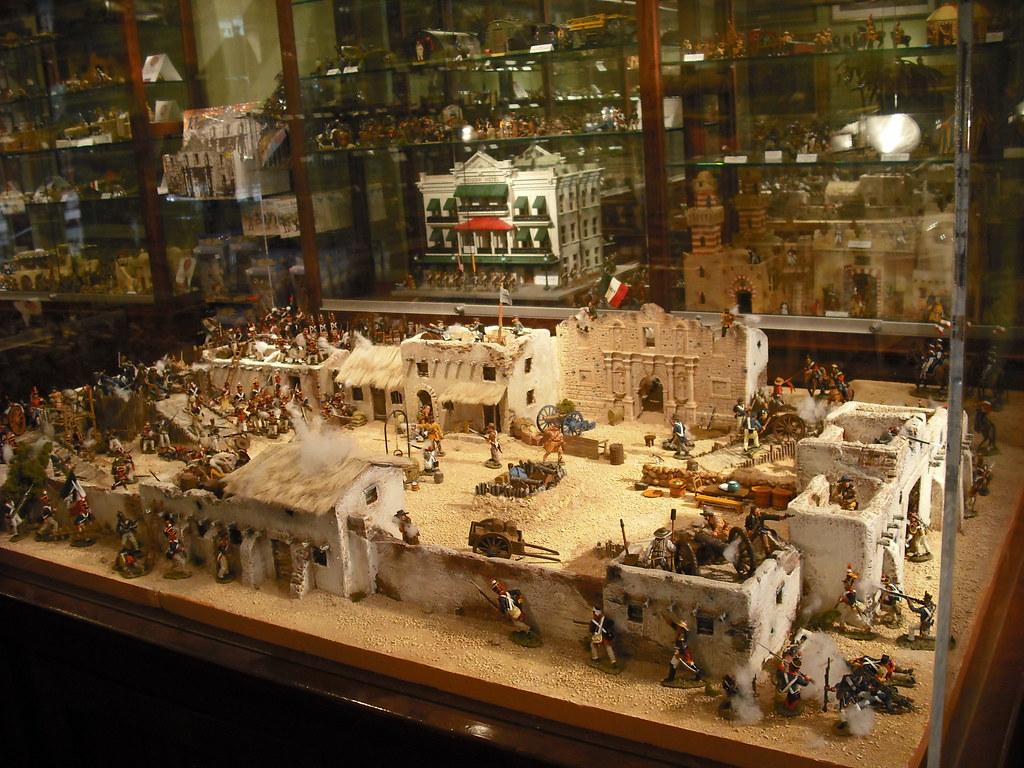 Battle Of The Alamo Kings X Model Shop Alamo Plaza San