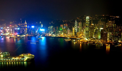 Victoria Harbour, Hong Kong. | by Fear_Through_The_Eyes