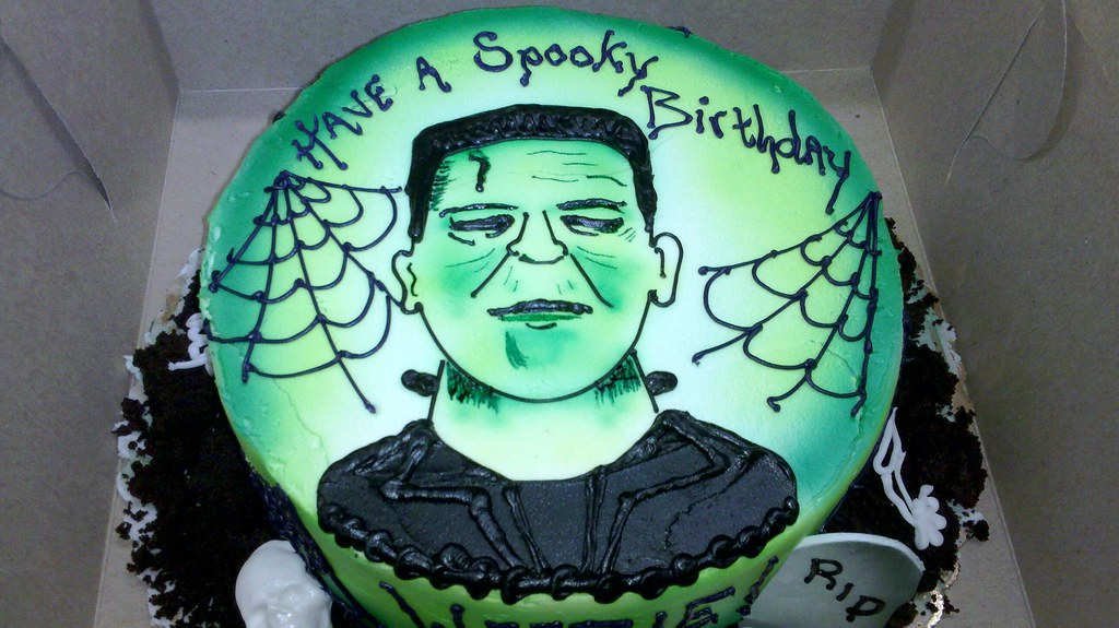 Frankenstein Cake Stans Northfield Bakery 330 467 8655 Ww Flickr