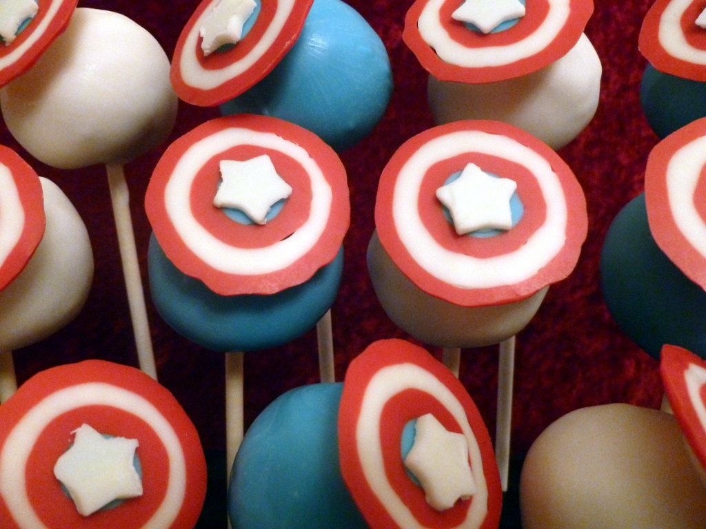 Captain America Cake Tesco