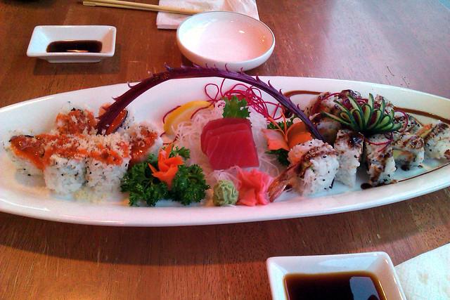 Arisu sushi flickr photo sharing for Arisu japanese cuisine