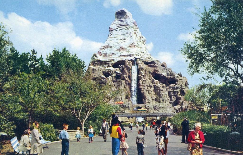 Disneyland Matterhorn Mountain Anaheim Ca William Bird