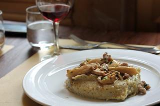 Polenta with veal and porcini | by David Lebovitz