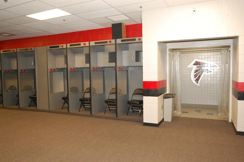 Dsc 0133 Georgia Dome Atlanta Falcons Locker Room