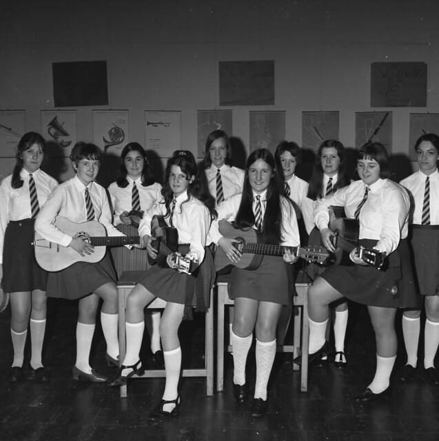 Catholic school uniforms 1960s