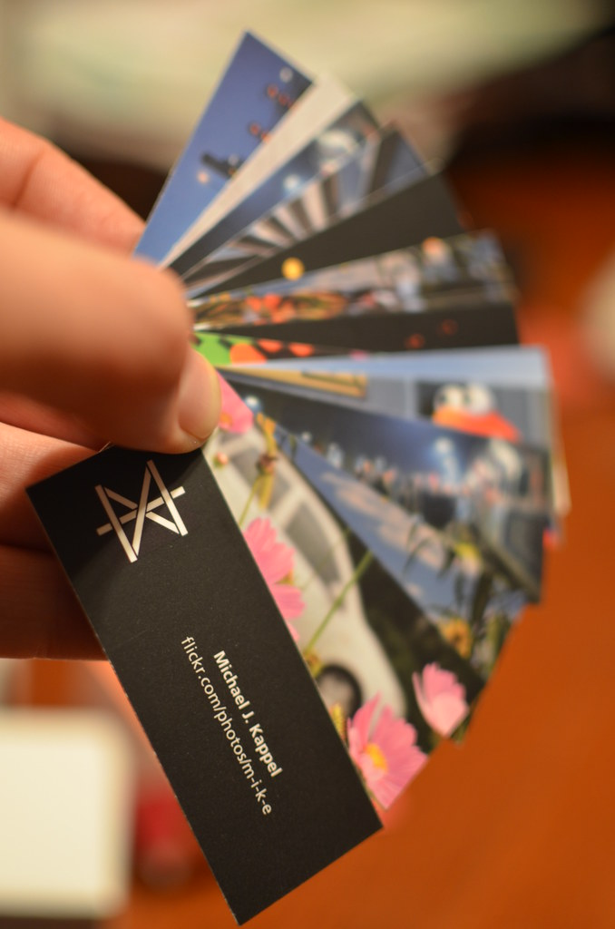 Mini Moo Cards | Moo Mini Flickr Business Cards My Referral … | Flickr