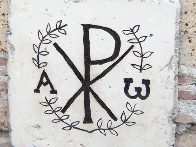 Early Christian Symbols: Monogram of Christ | Flickr ...