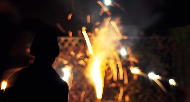 Bonfire - Emits Sparks