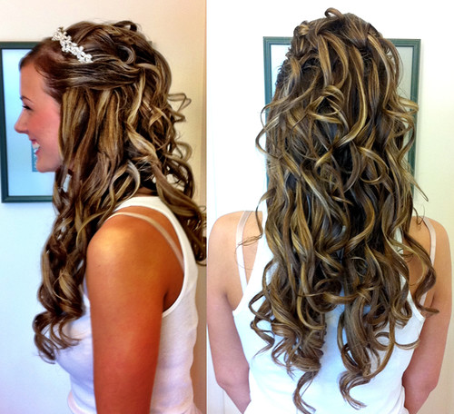 long-wedding-hairstyle-extensions | by vanmobilehair