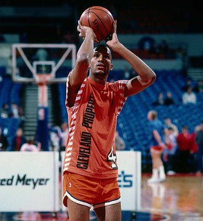 Ron Harper Warmups | by Cavs History