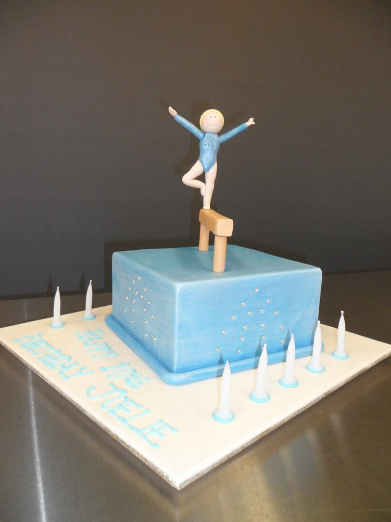 Gymnastics Cake Kylie Ballard Flickr