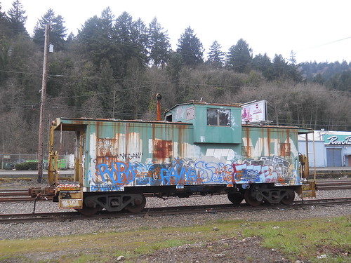 Old Caboose | by FatFuckN/W