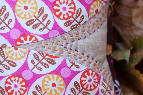 Sewing Circle Pillow | by Jeni Baker | In Color Order